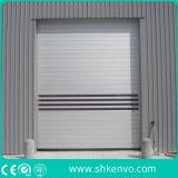 Portelli ad alta velocità della saracinesca del magazzino di alluminio del metallo industriale della lega