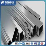 Tubo/tubo de aluminio de plata Polished de Rod /Square