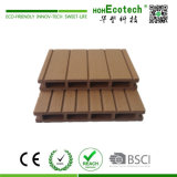 Decking composto plástico de madeira Non-Slip durável da plataforma