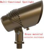 極度の明るい真鍮の庭のスポットライトIP65をつける屋外LED