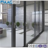 Aluminium/aluminium Windows coulissant pour l'hôtel/la Chambre résidentielle construction commerciale