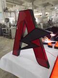 금속 알루미늄 주거 잘 고정된 광고 아크릴 편지 표시