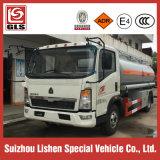 Exportación del carro del reaprovisionamiento del buque de petróleo del carro del depósito de gasolina de HOWO