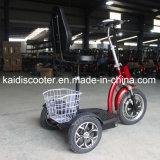 大人500Wのセリウムが付いているFoldable 3つの車輪の電気移動性のスクーター