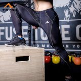 Атлетические гетры разминки гимнастики кальсон для людей