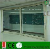 組み込みのブラインドが付いている高品質のアルミニウム上昇そしてスライドのドアはAu及びNzの標準に従う