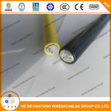 Isolation Xhhw-2 600V 12AWG-2000kcmil de Conductorxlpe d'Al UL44