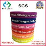 Le bracelet fait sur commande des silicones les meilleur marché pour la publicité