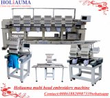 China Newest 2 Head Computerized Embroidery Machine with Best Daohao Control System Computer