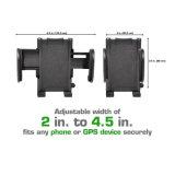 2-in-1 fixent le téléphone GPS complété, support réglable de support de véhicule de téléphone mobile d'adhérences