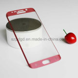 film protecteur incurvé par 9h d'écran en verre Tempered d'accessoires de téléphone du bord 3D pour le bord de Samsung S7 (plaquer)