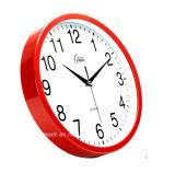 Reloj de pared plástico del metal promocional