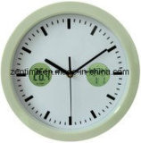 L'horloge de mur en plastique de bâti pour la décoration à la maison dans le prix usine