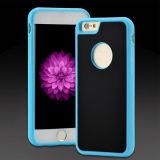 Caixa Nano antigravitante do telefone de pilha do silicone da adsorção para o iPhone 7/7 positivo