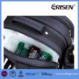 Grand sac à dos de pique-nique à compartiment réfrigérant pour 4 avec couverture