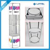 Drehender Aluminiumbildschirmanzeige-Aufsatz-Standplatz