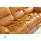 O sofá de couro moderno do Recliner ajustou-se para o teatro Home (DW-8996-3S)