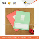 Sacola de papel de CD / DVD em branco puro de alta qualidade