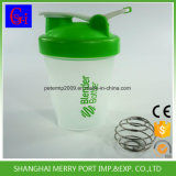 一義的な形頑丈なボディプラスチック水シェーカーのびんのびん(400ML)