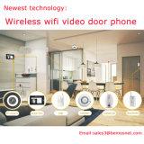 Система безопасности дома дверного звонока телефона двери WiFi самой новой технологии видео-