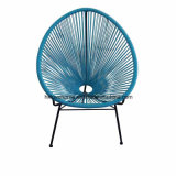 금속 등나무 옥외 실내 여가 아카풀코 라운지용 의자