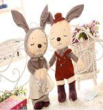 Recht weiche Plüsch-Kaninchen-Tuch-Puppe
