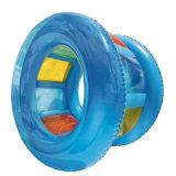PVC o TPU inflable agua rodillos juego para parque acuático