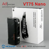 De Batterij van Mod. 18650 van de Doos van de Controle van de Temperatuur van Hcigar Vt75 Vt75 met Beste Prijs