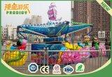 Equipo de diversión Merry Go Round Niños Ocean Walk Mini Carousel