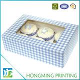 別のサイズの色刷のボール紙のケーキの包装ボックス