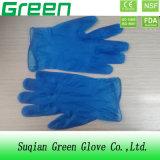Blaue Wegwerf-Belüftung-Handschuhe (ISO, CER bescheinigt)