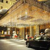 Indicatori luminosi di caduta del ghiacciolo del LED per la decorazione di festa