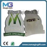 Fördernder Soem-kundenspezifischer Werbegeschenk-Drucken-MetallreversPin