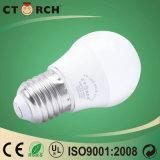 Ctorch-LED lampada 5W della lampadina di sorgente luminosa PC+Al con l'UL del Ce
