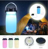 Solar Power Bank Camping Bottle
