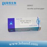 Papel de teste do ácido ascórbico da tira de teste 100/Box da qualidade de água do laboratório