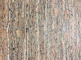 Couro sintético para sapatas, decoração do plutônio do teste padrão de madeira novo, sacos (HS-Y63)