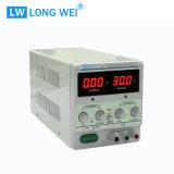 60W PS302D Transformator justierbare lineare Gleichstrom-Versorgung mit Alligatorkabel und Netzanschlusskabel