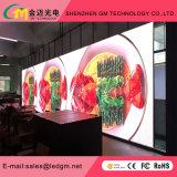 Nuevo producto de alquiler de gama alta, alta escala gris, visualización de LED P6.25