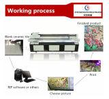 Stampante di getto di inchiostro a base piatta UV del nuovo del PVC vinile vetro/metallo delle mattonelle