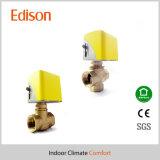 2 válvula de control eléctrica de la manera de la manera 3