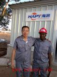 Las aves de corral contienen el equipo y la construcción para el proyecto de llavero en Mozambique en venta caliente