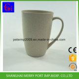370ml 12oz BPA liberan la taza caliente de la fibra del trigo de la venta con la maneta