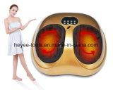 Masaje de amasamiento del Massager de oro del pie con calor e intensidad ajustable para el hogar