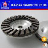Колесо чашки Huazuan 100mm меля для каменный обрабатывать