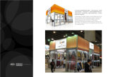 Международный строитель торговой ярмарки выставки индикации выставки призмы штрангя-прессовани колонки