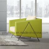 Sofà di cuoio moderno della nuova mobilia dell'ufficio progetti (SF-627)