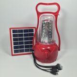 Indicatore luminoso portatile di CC 3W LED del fornitore con il comitato solare
