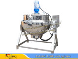 Edelstahl-kochender Kessel-Mantelstau, der Kessel 50~500L kocht