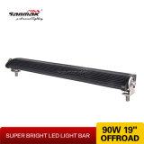 """19 de """" barra clara resistente do diodo emissor de luz do poder superior 90W 4X4"""